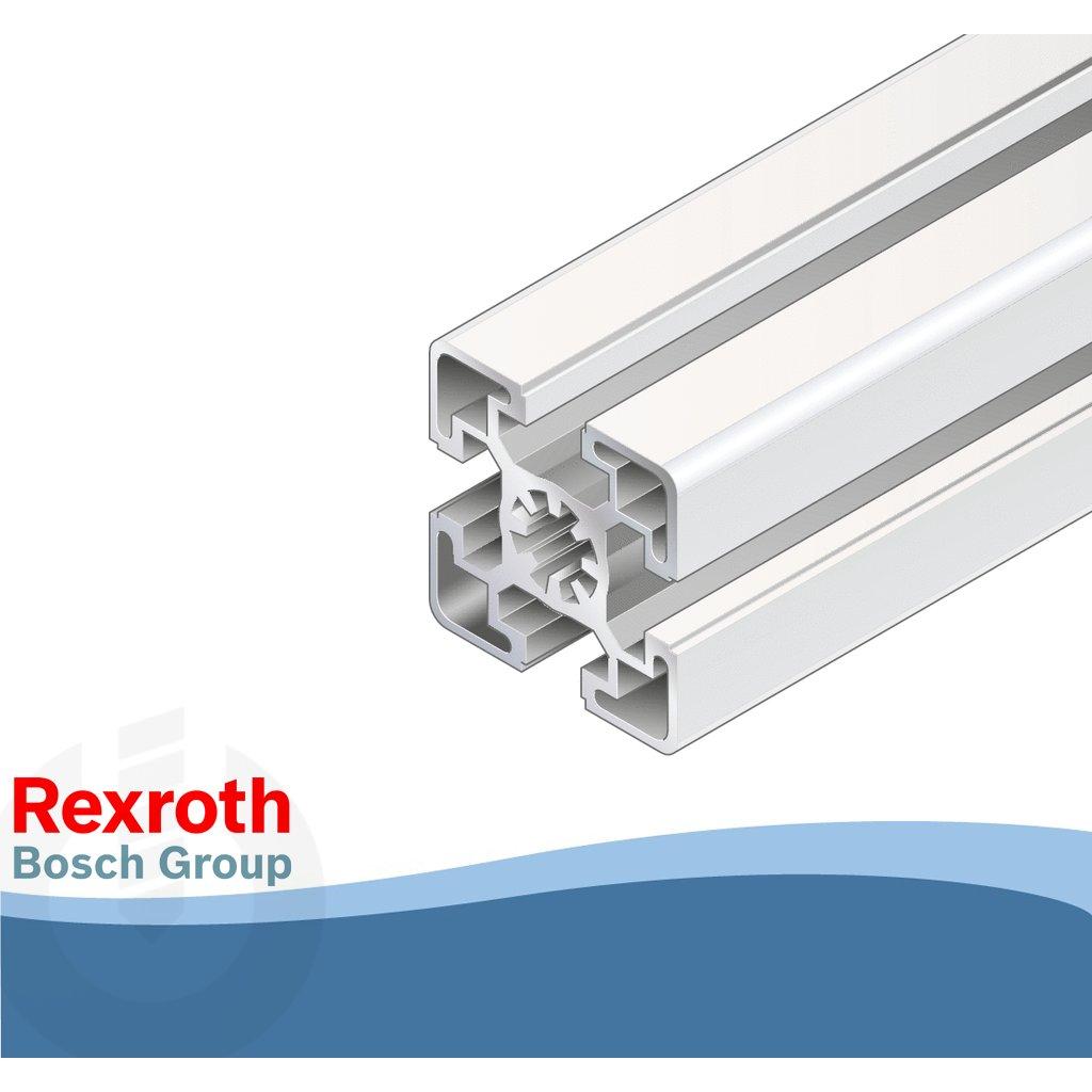 45 x 45mm light aluminium strut profile bosch rexroth choose length. Black Bedroom Furniture Sets. Home Design Ideas