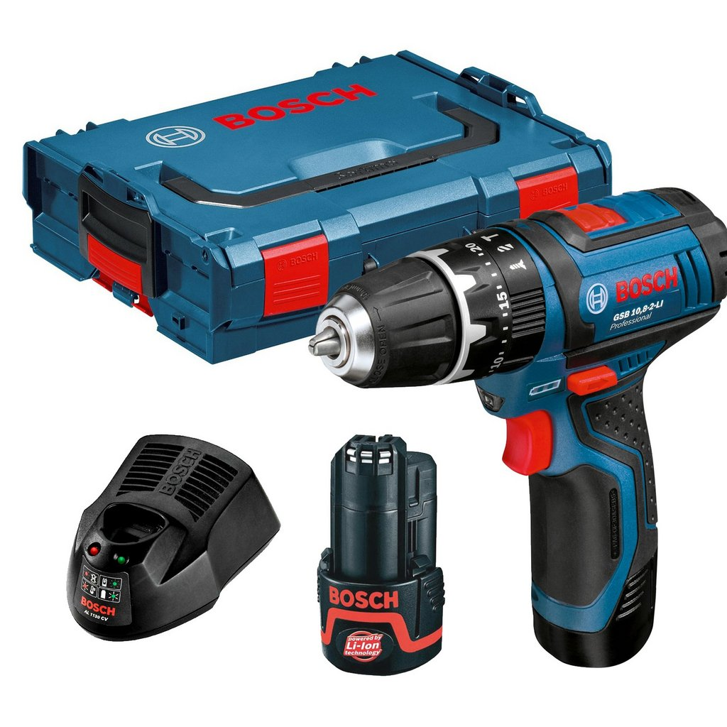GSB 12.0V Kit | Bosch Power Tools Cordless Drill Kit