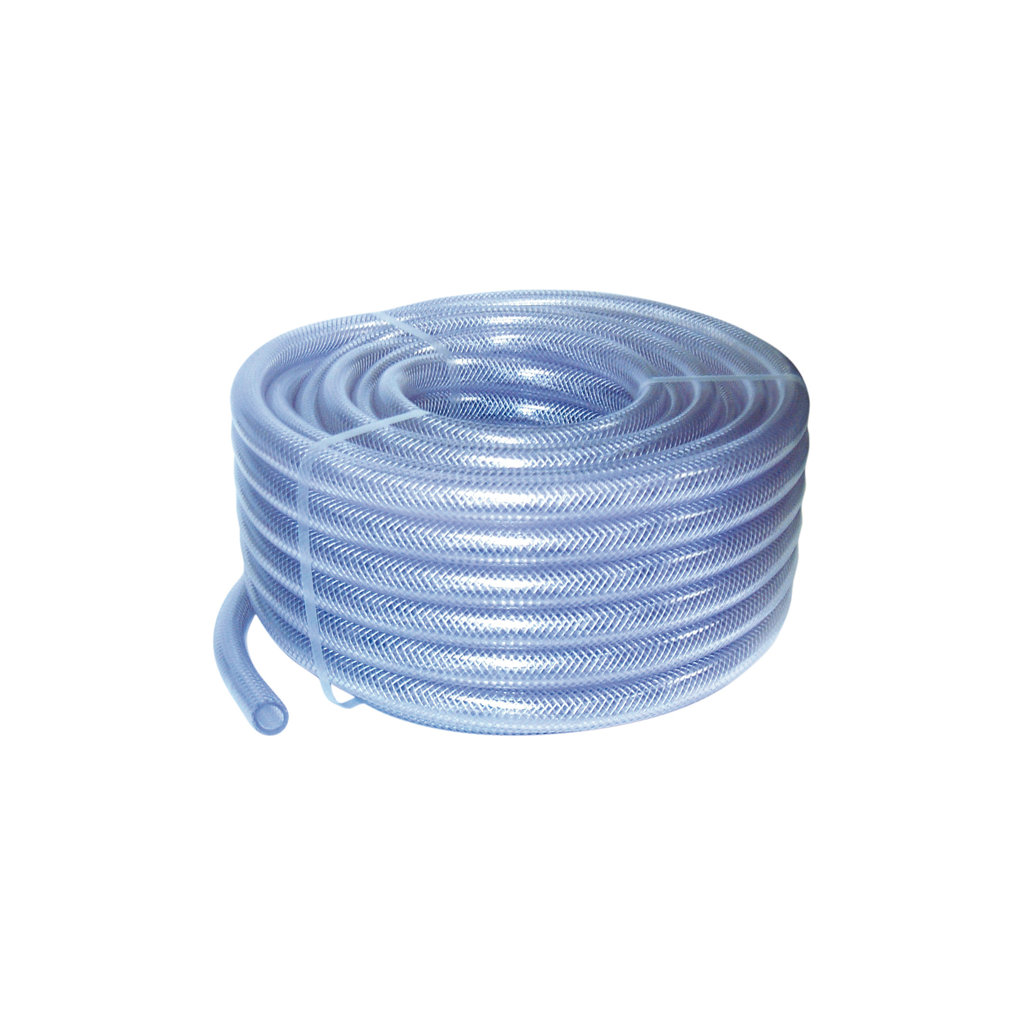 PVC Clear Braided Reinforced Hose Pipe (Choose Length) Air ...